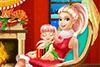 Décore le salon de Brigitte pour Noël