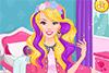 Des mèches colorées pour Barbie