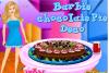 Décore un gâteau au chocolat pour Barbie