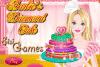 Un gâteau pour l'anniversaire de Barbie