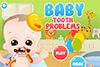 Bébé avec problèmes de dents