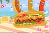 Marchand de hot dog