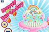 Gâteau d'anniversaire de princesse