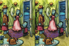 Bob, lucky fish : jeu des différences