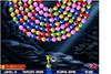 Boules colorées qui tournent