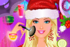 Maquillage de Noël pour Barbie