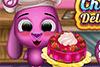 Gâteau au chocolat et fruits