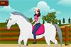 Marlène et ses chevaux de concours