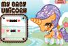 Crée ton bébé licorne