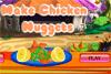 Cuisine des nuggets de poulet
