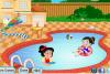 Crée un jardin avec piscine