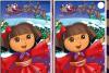 Différences Dora à Noël