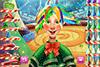 Elfe de Noël à coiffer