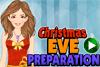 Maquillage de Noël pour Eve