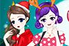 Amies réunies pour Noël