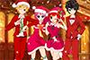 Soirée de Noël entre amis