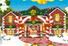Maison de Noël à décorer