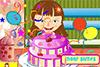 Gâteau d'anniversaire de Clara à décorer