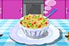 Salade de macaroni et légumes