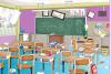 Nettoie la salle de classe