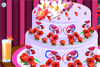 Gâteau fleuri à décorer