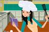 Habille un chef cuisinier