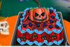 Décore un gâteau d'Halloween