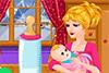 Chloé et son bébé