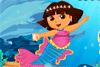 Dora en sirène