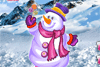 Bonhomme de neige pour fille