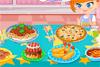 Délicieux buffet d'anniversaire