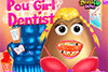 Pou Girl chez le dentiste