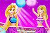 2  princesses cheerleaders