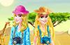 Lyna et Sophia en safari