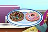 Fait des donuts avec Chloé