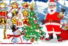 Jeux de Noël: habille le père Noël