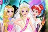 Elsa et ses demoiselles d'honneur