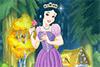 Une princesse dans la forêt