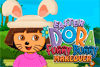 Déguise Dora en lapin