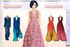 Défilé de robes orientales