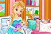 Elsa et son bébé