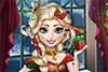 Coiffure de Noël pour Roxane