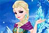 Maquillée comme Elsa