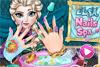 Manucure d'été pour Elsa