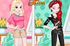 3 looks différents pour Lina