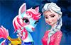 Le poney d'Elsa