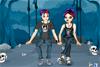 Couple Emo à habiller