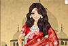 Belle indienne à habiller
