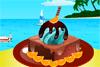Gâteau glacé à décorer