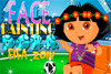 Dora supportrice de foot